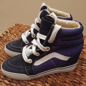 Vans Sk8 High Wedge Sneakers